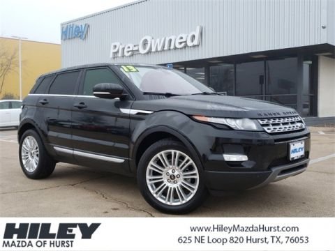 Pre-Owned 2013 Land Rover Range Rover Evoque Prestige 4WD 4D Sport Utility