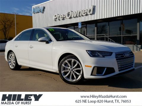 Pre-Owned 2019 Audi A4 2.0T Premium quattro 4D Sedan